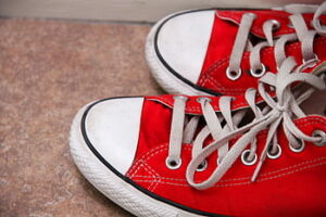 Mortimer Curran Red Sneakers for Oakley (RSF)